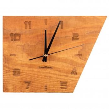 Dřevěné hodiny - Asymetrie