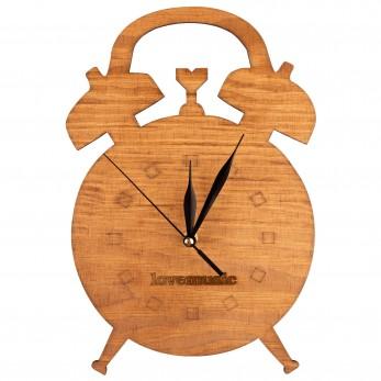 Dřevěné hodiny - Budík