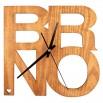 Dřevěné hodiny - Brno