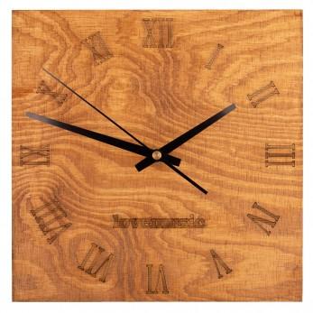 Dřevěné hodiny - Square