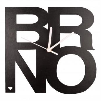 Černé hodiny - Brno
