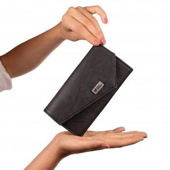 Dámská peněženka - antracitová