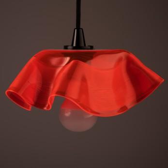 Lustr Mallorca - Neon Red