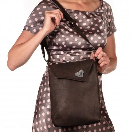 Dámská kabelka Malá Dafné - černá