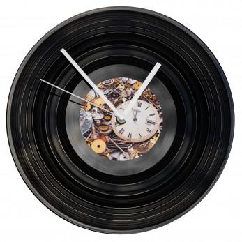 Gramofonové hodiny - Steampunk