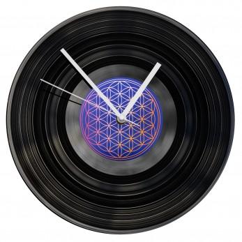 Gramofonové hodiny - Květ života