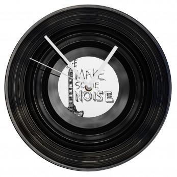 Gramofonové hodiny - Make Some Noise