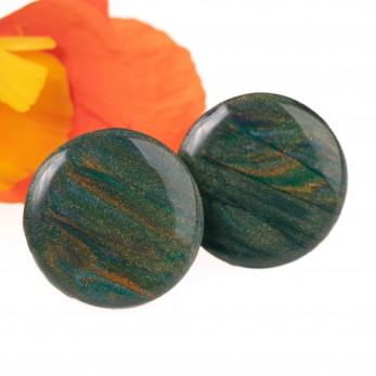 Náušnice pecky 15 mm - Cosmos Earth