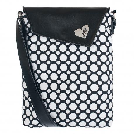 Crossbody kabelka s op artovým vzorem sluší modelce a bude slušet i tobě! Originál od Lovemusic.