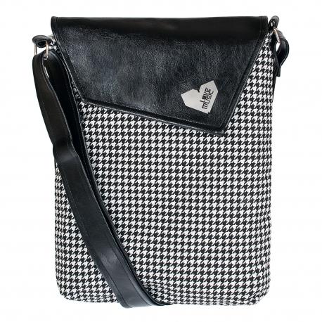 Crossbody kabelka s kooutí stopou sluší modelce a bude slušet i tobě! Originál od Lovemusic.
