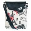 Crossbody kabelka s Paříží sluší modelce a bude slušet i tobě! Originál od Lovemusic.