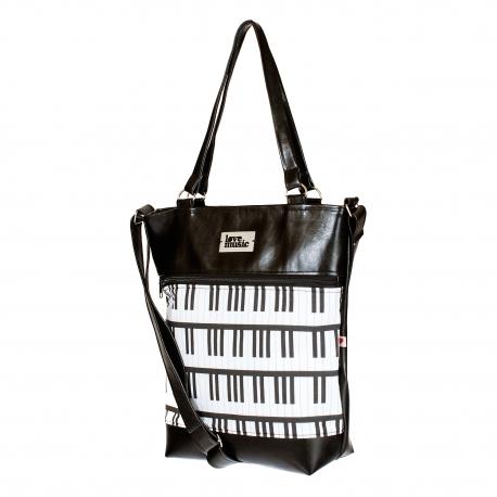 Dámská kabelka Elinor - černá - Piano