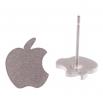 Ocelové náušnice pecky - Jablko