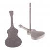 Ocelové náušnice pecky - Kytara