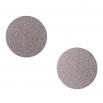 Ocelové náušnice pecky - Kruh