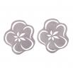 Ocelové náušnice pecky - Complexity - Sakura