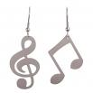 Visací ocelové náušnice - Concertino