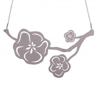 Luxusní dámský ocelový náhrdelník Complexity - Sakura