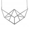 Luxusní dámský ocelový náhrdelník Complexity - Linear