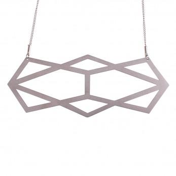 Luxusní dámský ocelový náhrdelník Complexity - Reflexion