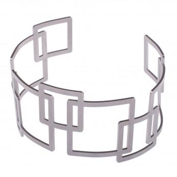 Dámský luxusní ocelový náramek - Complexity - Square