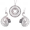Luxusní sada ocelových šperků Womanity - Milenka