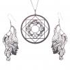 Luxusní sada ocelových šperků Womanity - Hrdinka