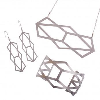 Luxusní sada ocelových šperků Complexity - Reflexion