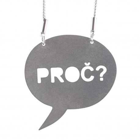 Dámský ocelový náhrdelník Witty - Proč