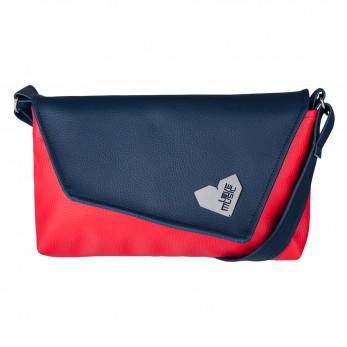 Dámská kabelka Rande Dafné  - Tmavomodročervená