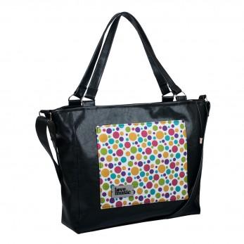 Dámská kabelka Amélie - černá - Bílé Bubliny