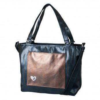 Dámská kabelka Amélie - Černobronzová