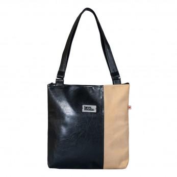 Dámská kabelka Diana  - Černozlatá