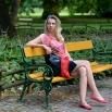 Dámská kabelka Diana  - Černofialová