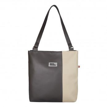Dámská kabelka Diana  - Šedobéžová