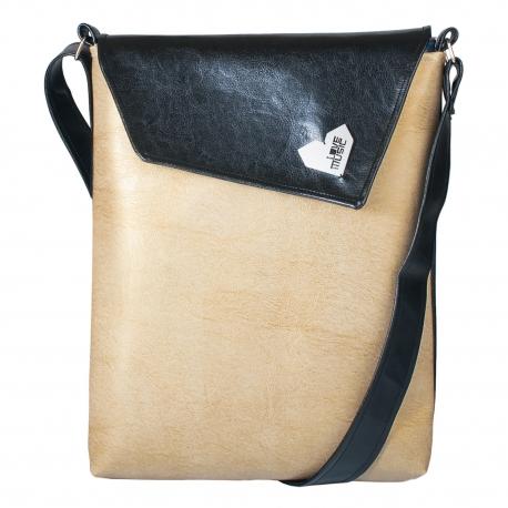 Dámská kabelka Dafné - Černozlatá