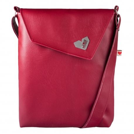Dámská kabelka Dafné - Vínová