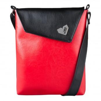 Dámská kabelka Dafné - Černočervená
