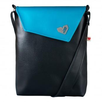 Dámská kabelka Dafné - Modročerná