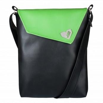 Dámská kabelka Dafné - Zelenočerná