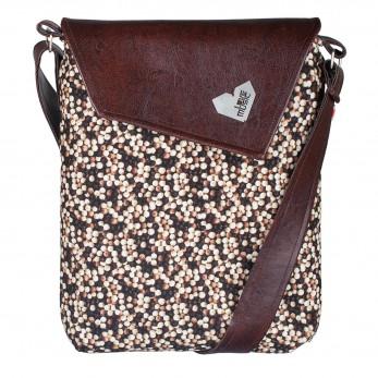 Dámská kabelka Dafné - hnědá - Hnědé Bubliny