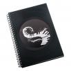 Zápisník z vinylových desek A5 - bez linek - Klaviatura