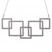 Luxusní dámský ocelový náhrdelník Complexity - Square