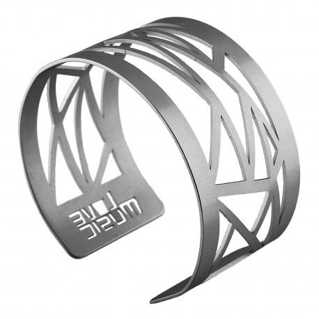Dámský luxusní ocelový náramek - Triangle
