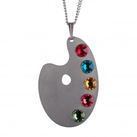 Dámský ocelový náhrdelník Witty  - Paleta