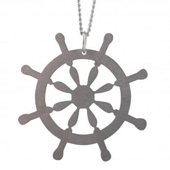 Dámský ocelový náhrdelník Witty - kormidlo