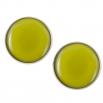 Velké náušnice pecky - Lentilky - Světle Zelené