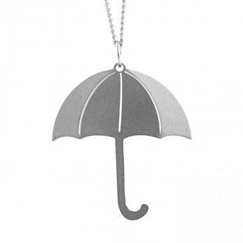 Dámský ocelový náhrdelník Witty - Deštník