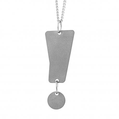 Dámský ocelový náhrdelník Witty - Vykřičník