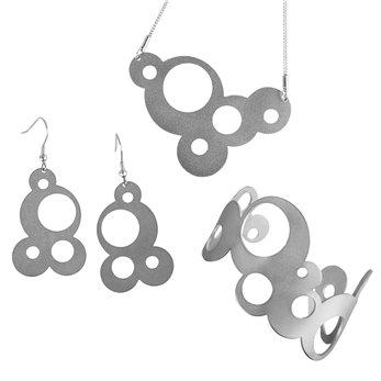 Luxusní sada ocelových šperků Complexity  - One